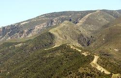 Mountains of the Alpujarras Stock Photography
