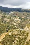 Mountains of the Alpujarras Stock Image