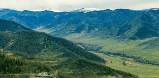 The mountains Royalty Free Stock Images