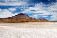 Mountains in the Altiplano. Mountains in the Bolivian Altiplano: 2013 Royalty Free Stock Photo