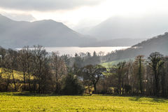 Mountains in Ambelside Cumbria Royalty Free Stock Image