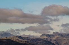 Mountains  in Ambelside, CUmbria Royalty Free Stock Photo