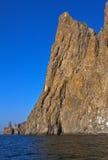Mountains of an ancient volcano Kara-Dag Stock Images