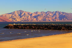 Free Mountains And Beach In Angeles Bay In Baja California Mexico IV Stock Images - 43887934