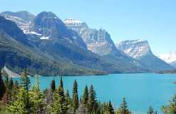 Mountains And Lake Stock Photography