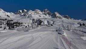 Free Mountains And Ski Slopes In Passo San Pellegrino Stock Photo - 38364860