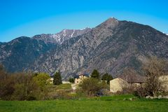Mountains of Andorra Royalty Free Stock Photos