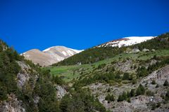 Mountains of Andorra Stock Photos