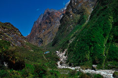 Mountains, Annapurna Nepal Royalty Free Stock Photo