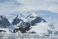 The mountains of the Antarctic - 3. The mountains on the coast of the Antarctic Peninsula - 3 Royalty Free Stock Images