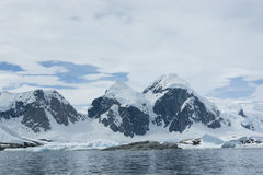 Mountains of Antarctica - 1. The mountains on the coast of the Antarctic Peninsula - 1 Royalty Free Stock Photography