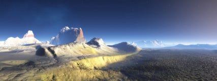 Mountains of Antarctica Royalty Free Stock Photos