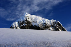 Mountains in Antarctica royalty free stock images