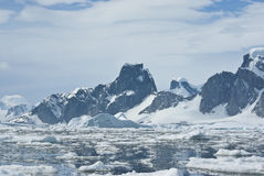 Mountains of Antarctica - 2. Stock Photo