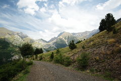 Mountains of Aragon Stock Photography