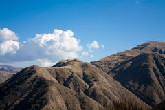 Mountains in Armenia Stock Image