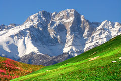 Mountains of the Armenia. Royalty Free Stock Photos