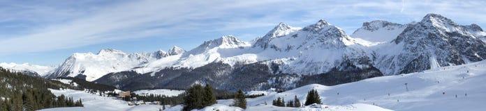 Mountains of Arosa Stock Photo
