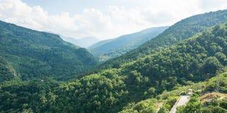 The mountains around the Asenova Fortress Royalty Free Stock Image