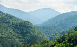 The mountains around Bachkovo Stock Images