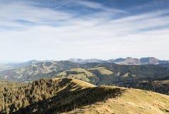 Mountains around Fribourg, Switzerland Stock Images