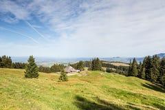 Mountains around Fribourg, Switzerland Royalty Free Stock Photos