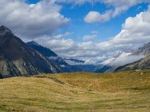 Mountains around Gorner Glacier, Switzerland.  royalty free stock images