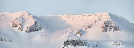 Mountains around Grundarfjordur, Iceland. The mountains surrounding Grundarfjordur, Iceland royalty free stock photos