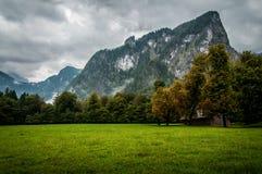 Mountains around Konigssee lake Royalty Free Stock Photo