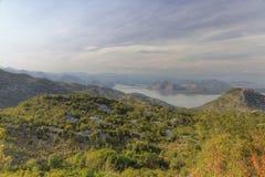 Mountains around lake Skadar Stock Image