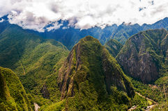 Mountains around Machu Picchu Royalty Free Stock Photography
