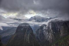 Mountains around Machu Picchu Peru. Mountains around the Machu Picchu Peru stock photo