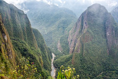 Mountains Around Machu Picchu Stock Photos