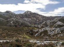 Mountains of Asturias Royalty Free Stock Photos