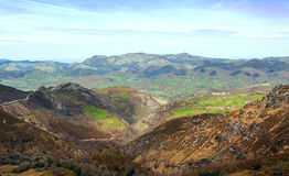 Mountains of Asturias Royalty Free Stock Photos