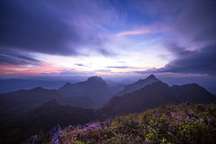 Free Mountains At Twilight Stock Photos - 41744173