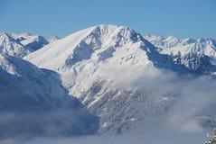 Mountains in Austria Royalty Free Stock Photos
