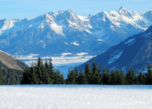 Mountains of Austria Stock Photography