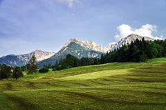 Mountains of Austria, Alps Stock Photo