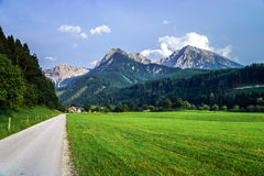 Mountains of Austria, Alps Stock Images