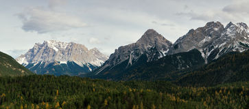 Mountains in Austrian Alps royalty free stock image