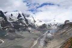 Mountains Austrian Alps Glacier Glacier Pasterze Stock Image