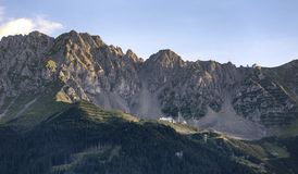 Mountains at the Austrian Alps Royalty Free Stock Photography