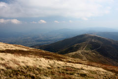 Mountains in the autumn Royalty Free Stock Photo