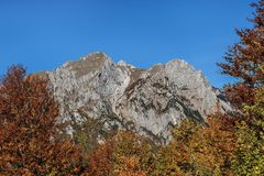 Mountains in the autumn in Bosnia and Herzegovina Stock Photo