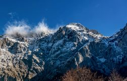 Mountains in the autumn in Bosnia and Herzegovina Stock Images