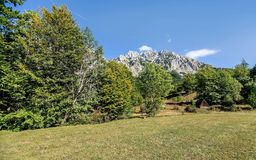 Mountains in the autumn in Bosnia and Herzegovina.  Royalty Free Stock Images