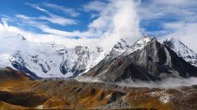 Mountains in autumn, Himalayas Royalty Free Stock Photos