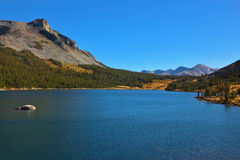 The mountains and azure lake Tioga Royalty Free Stock Images