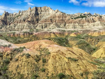 Mountains In The Badlands Royalty Free Stock Photos